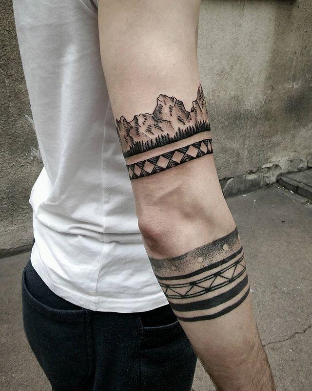 Mountain Armband Tattoo : mountain, armband, tattoo, These, Mountains, Tattoos,, Tattoo,, Tattoo