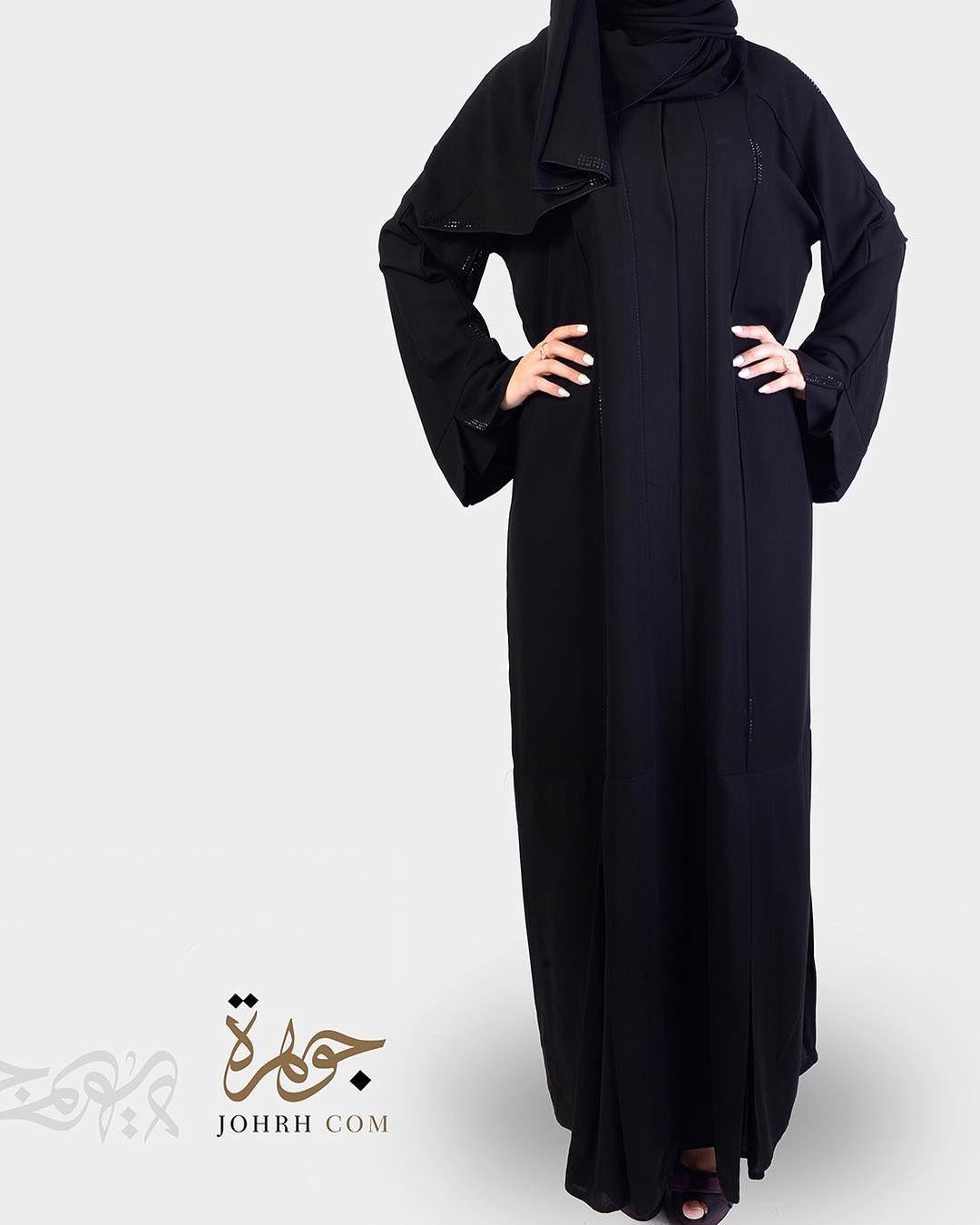 السعر ١٩٥ خياطة طولي وكرستال تألقي مع هذه العباءة بتصميمها الراقي والجميل فخياطتها بشكل طولي المنتهي بكسرة رقيقة ولمسات الكرستال أضا Fashion Coat Duster Coat