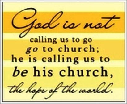 Be His Church