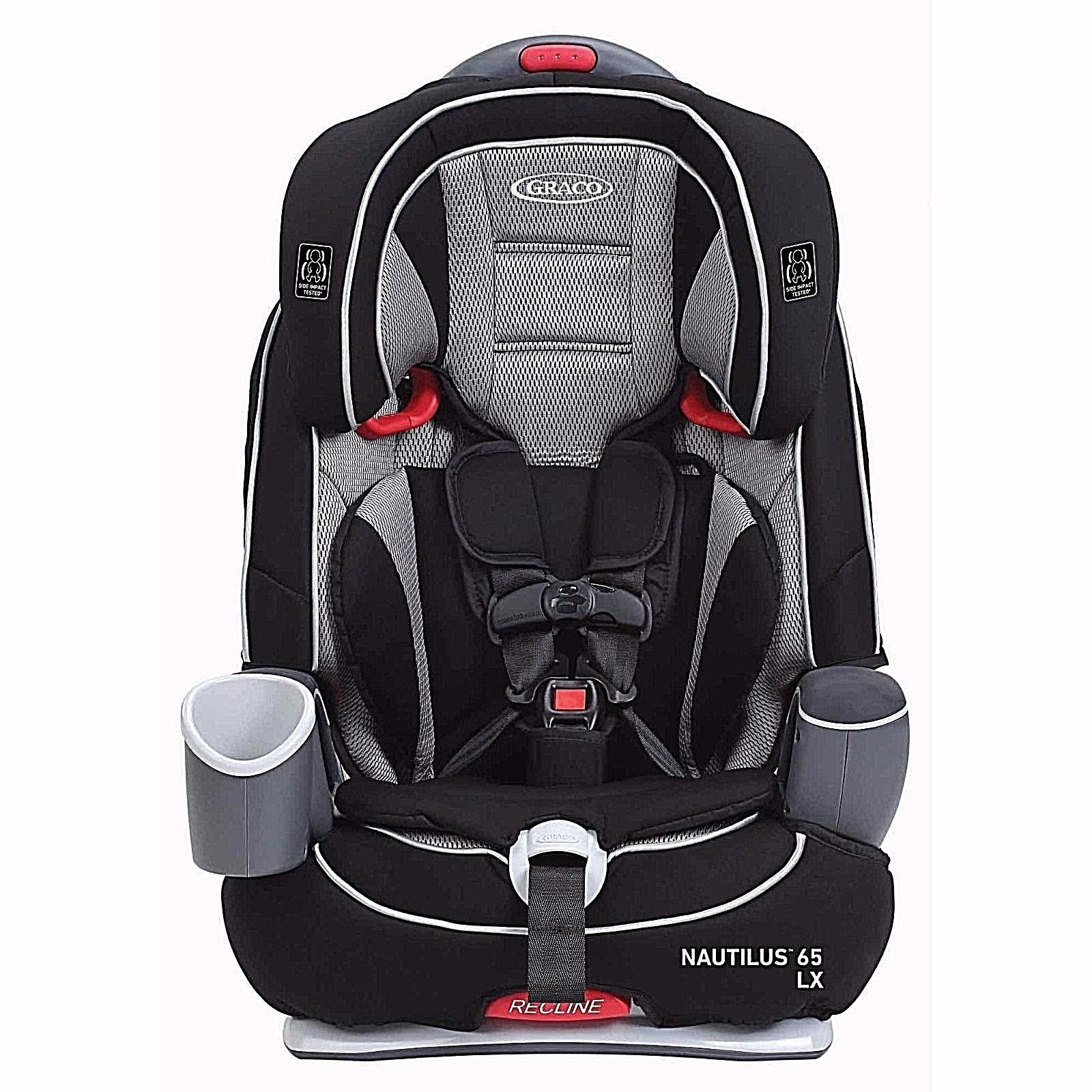 Graco Nautilus Lx 65 3 In 1 Harness Booster Car Seat Baby Safety Travel Kids