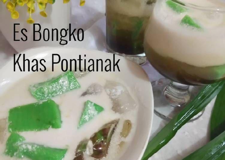 Bagaimana Resep Membuat Es Bongko Khas Pontianak Recipe Pontianak Recipes Food