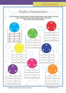 Belajar Anak Logika Penjumlahan Belajar Matematika Anak