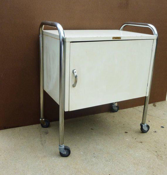 Industrial metal medical storage bar mobile by