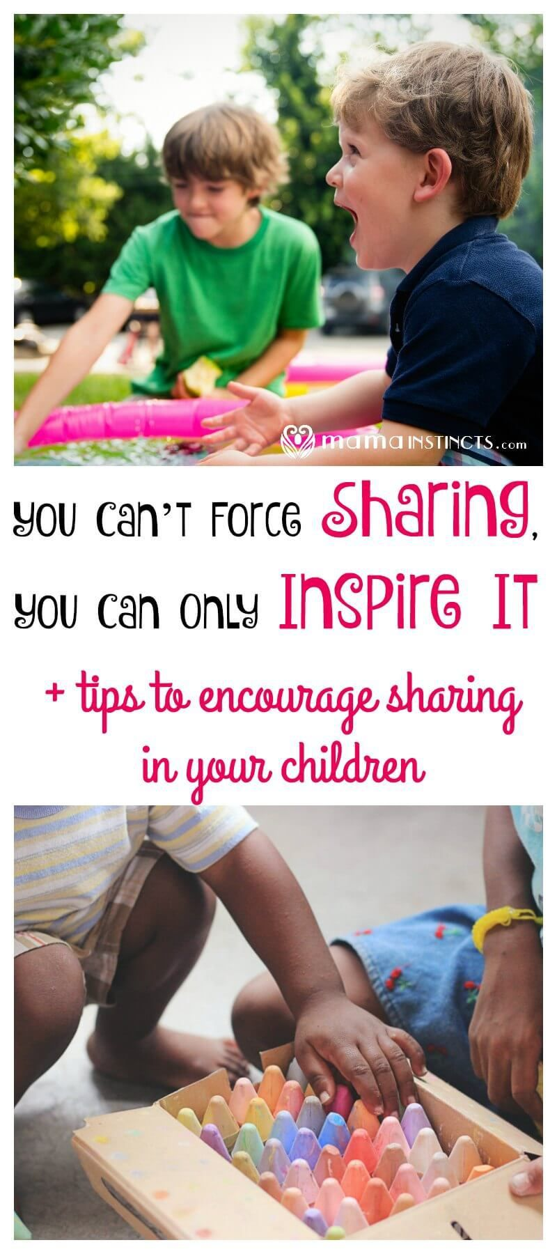 The child does not want to share: what should parents do