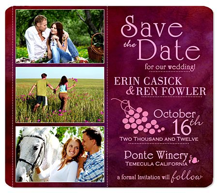 country save the date    Save the Date Wedding Magnets