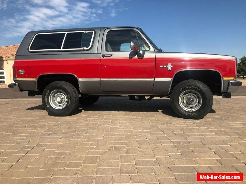 1987 Chevrolet Blazer Chevrolet Blazer Forsale Canada