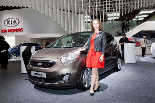 Kia Motors At The Paris Show