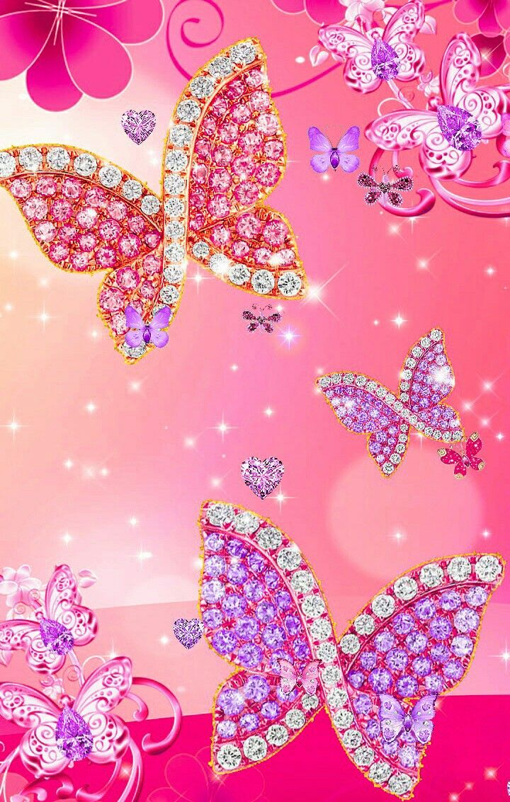 Pin by Brittany on bling | Butterfly wallpaper iphone ...