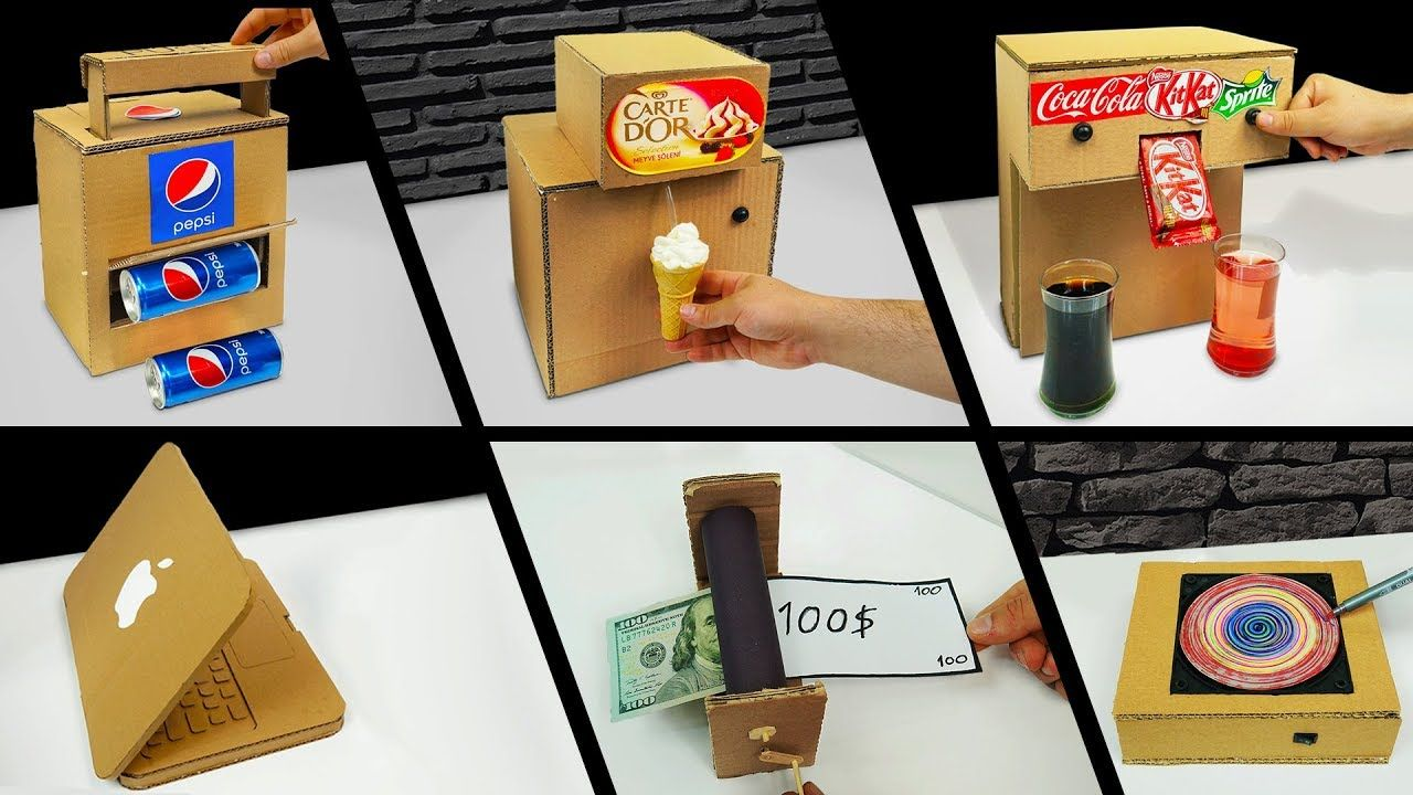TOP 10 Amazing ideas from Cardboard at Home Awesome TOP 10 Amazing ideas from Cardboard at Home