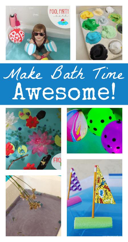 Fun And Easy Bath Time Activities For Children Nurturestore Co Uk