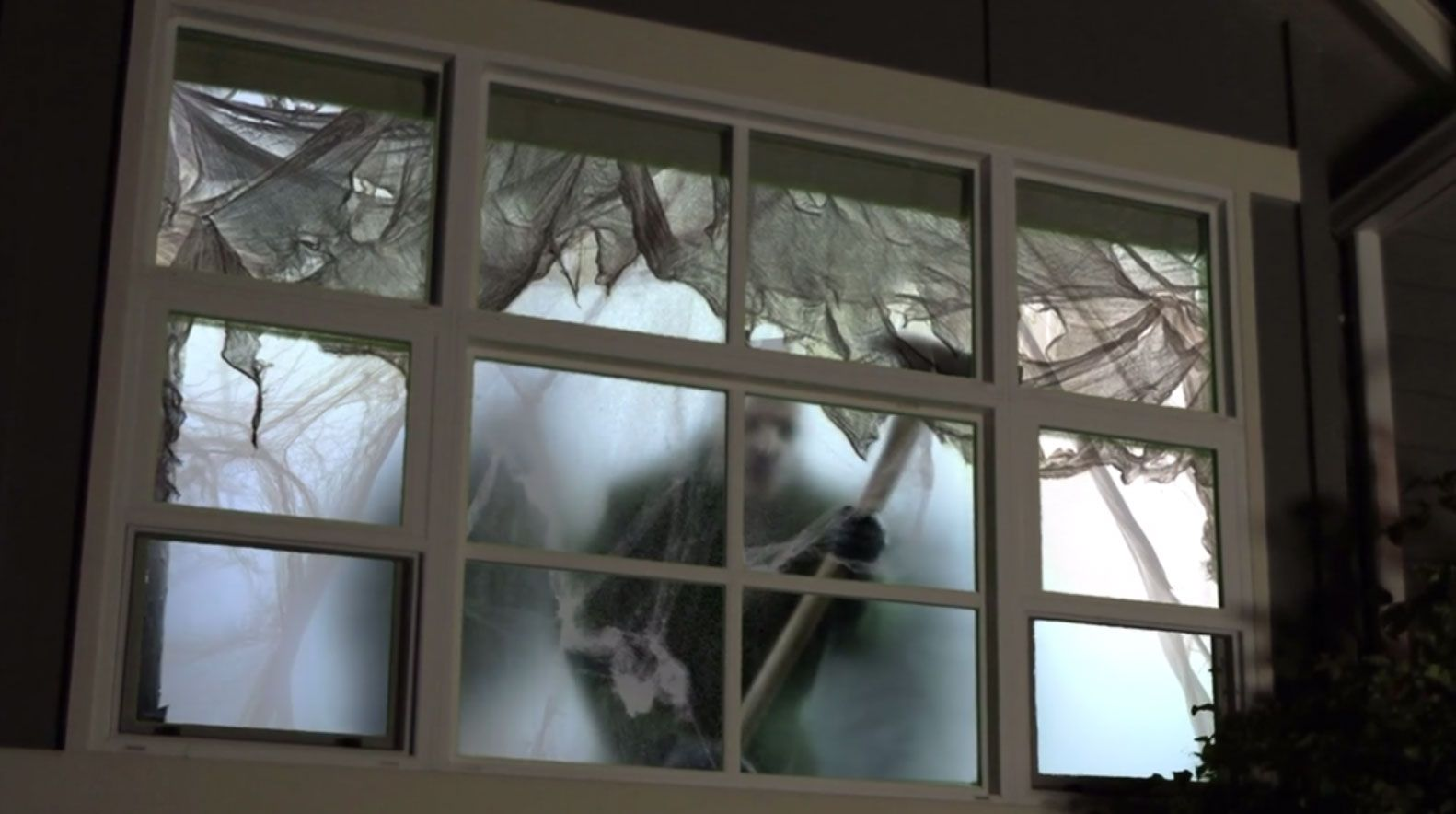 36++ Haunted house window projection ideas