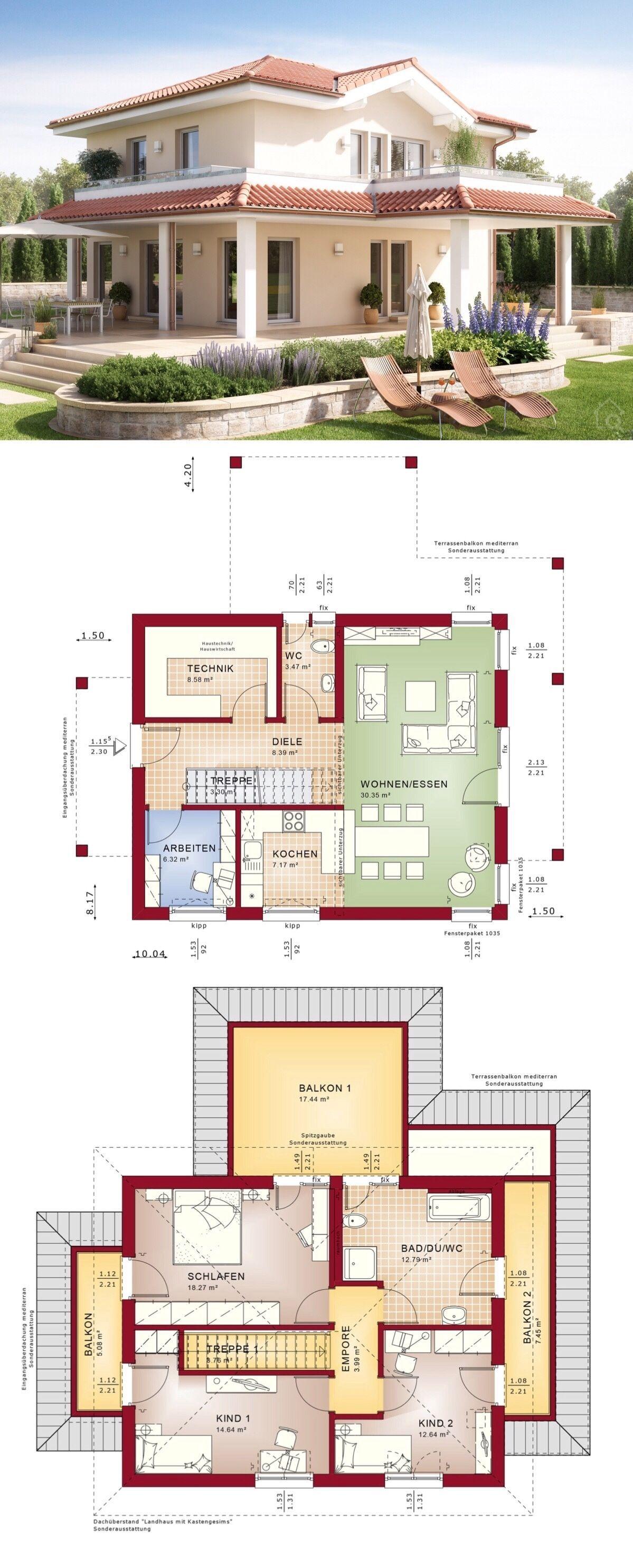Mediterranes Haus EVOLUTION 134 V4