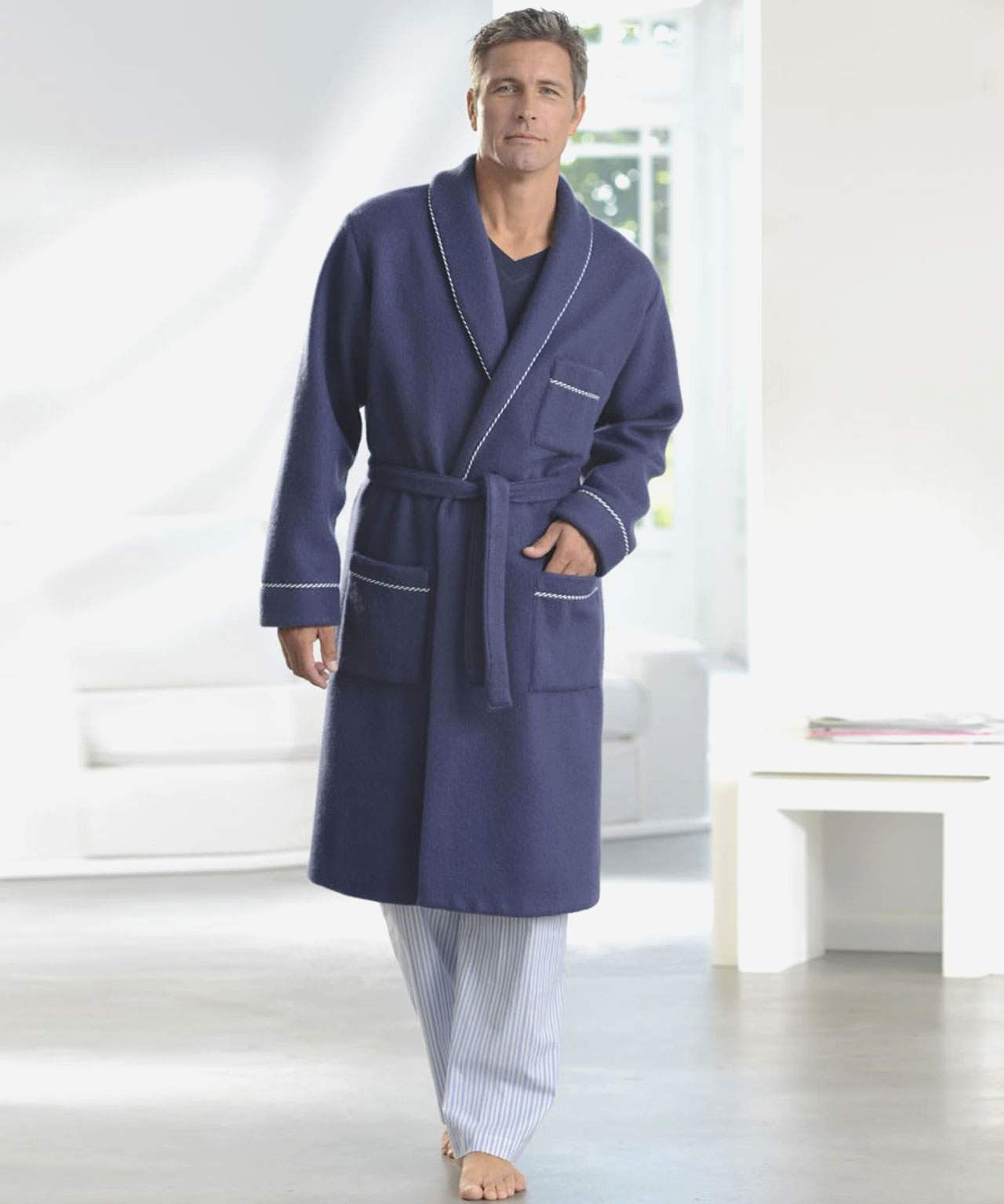 Awesome Robe De Chambre Chaude Pour Homme Coat Fashion Trench Coat