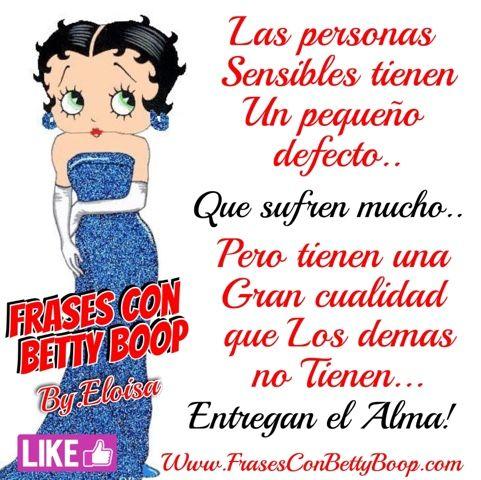Frases Con Betty Boopcom Las Personas Sensibles Imágenes