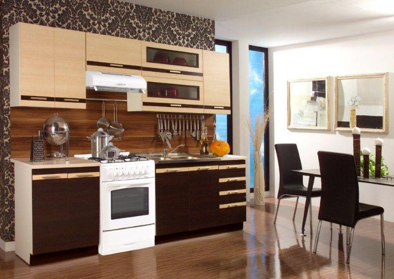 Lungo Macchiato Kuchnia Tanie Meble Kuchenne Ladna Kuchnia Kuchnia Wenge Kitchen Cabinets Kitchen Home Decor