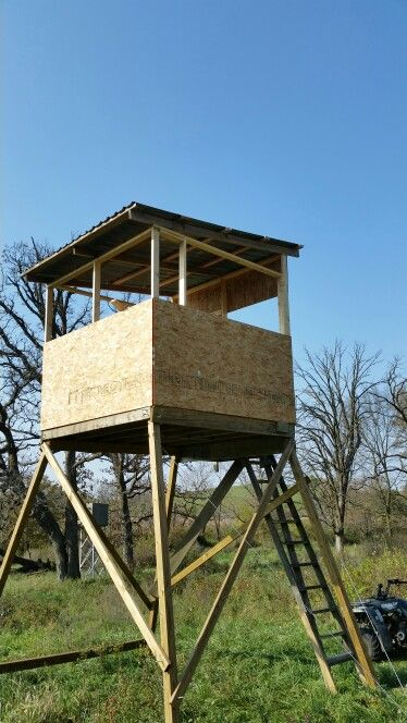 8x8 Deer Blind Deer Stands Deer Hunting Tips Deer