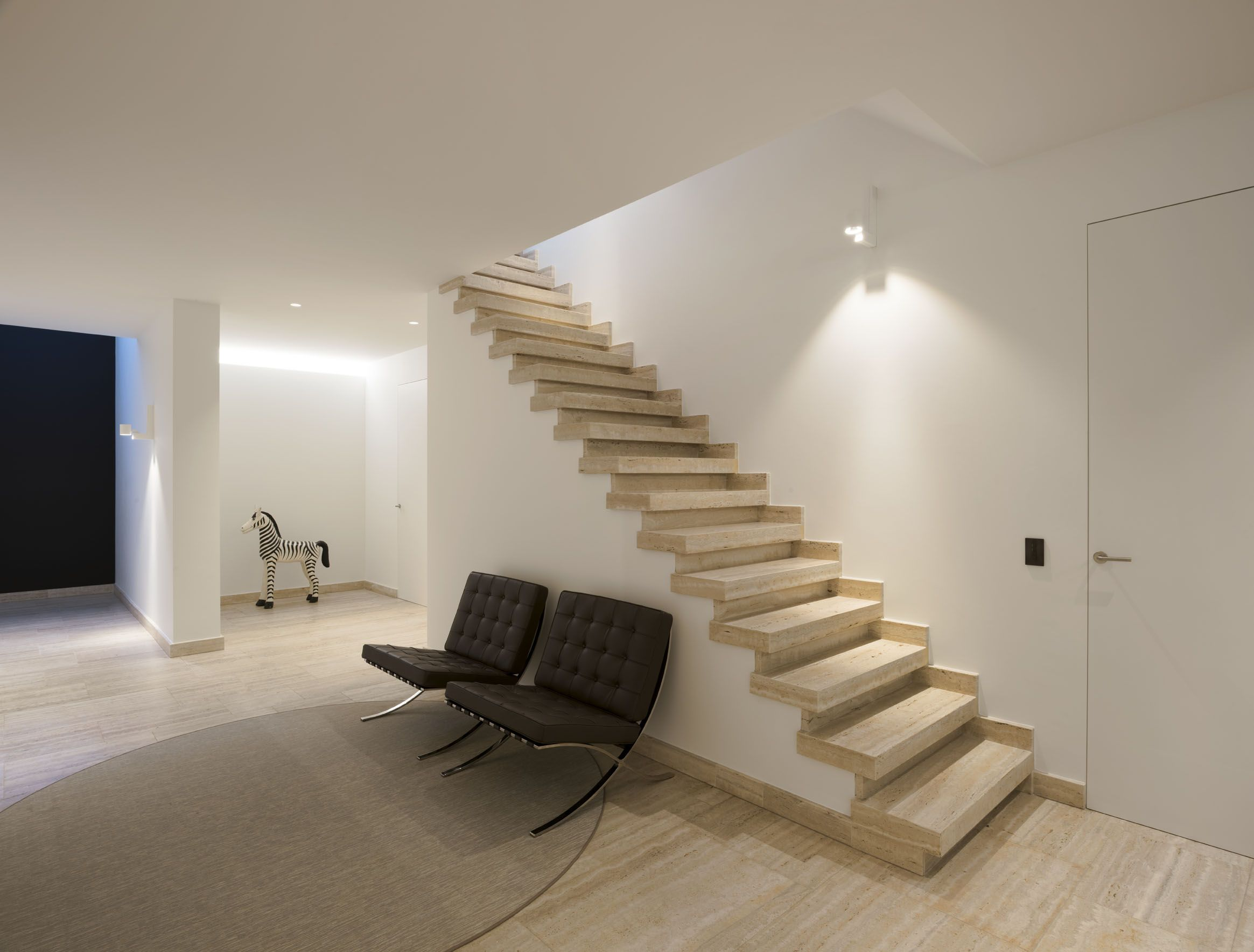 Kreon led light hallway ideas stairs erubo wall lights wood kreon