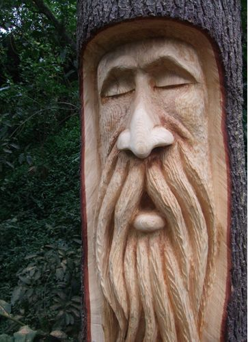 Wood spirit carvings google search carving pinterest