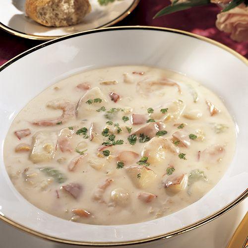 Seafood Chowder Recipe Chowder Recipes Chowder Cooking Recipes