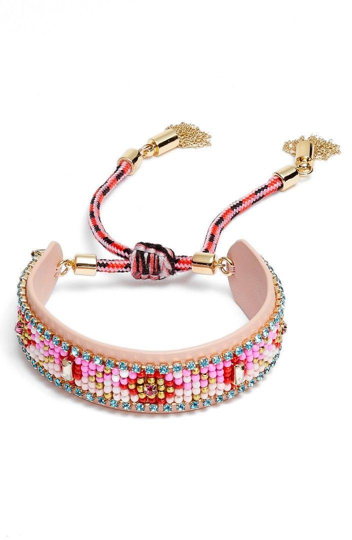 Rebecca Minkoff We Got This Seed Bead Friendship Bracelet UITGfe0uo