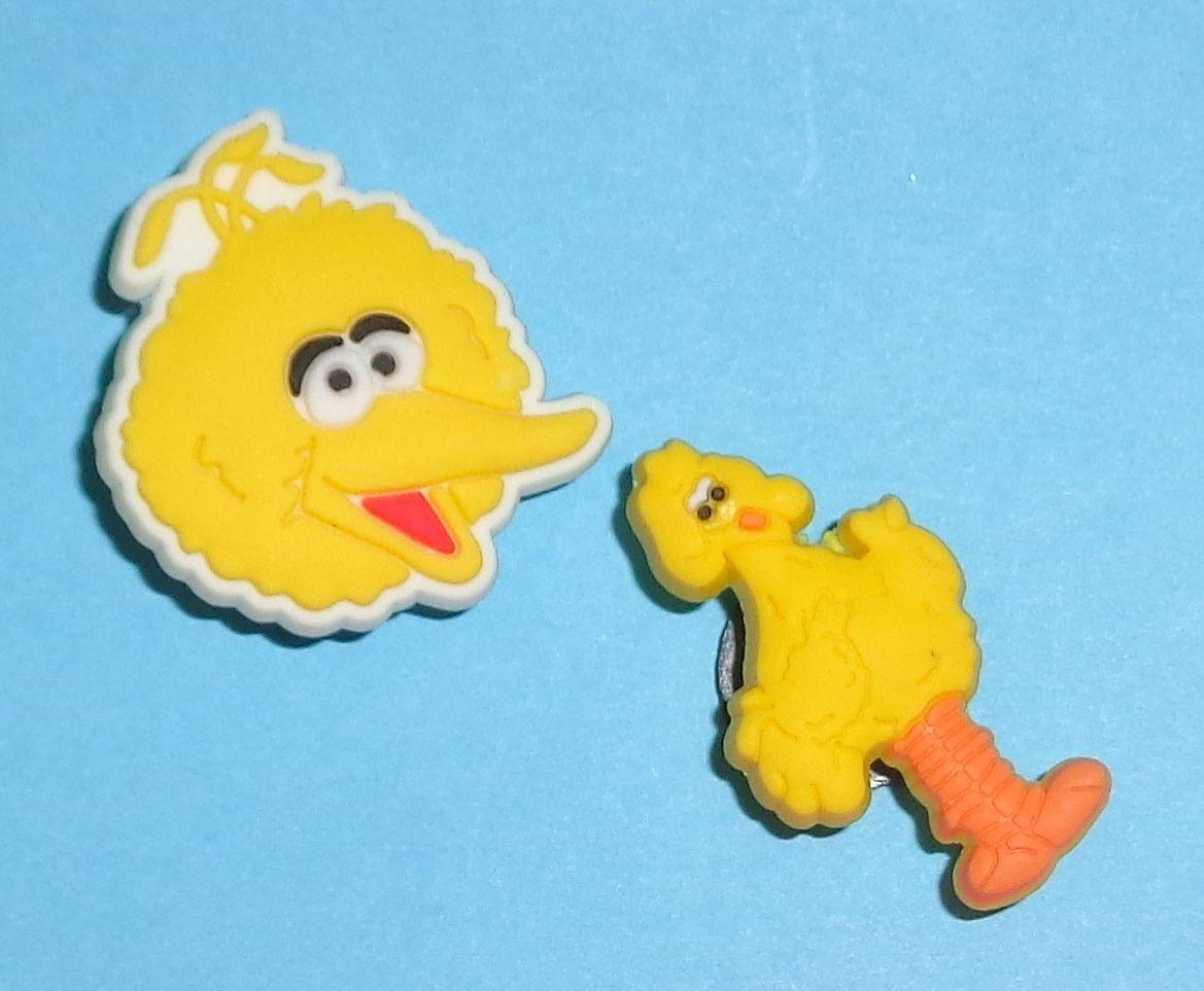 More Sesame Street Shoe Charms Kids Sets for Your Crocs like Jibbitz