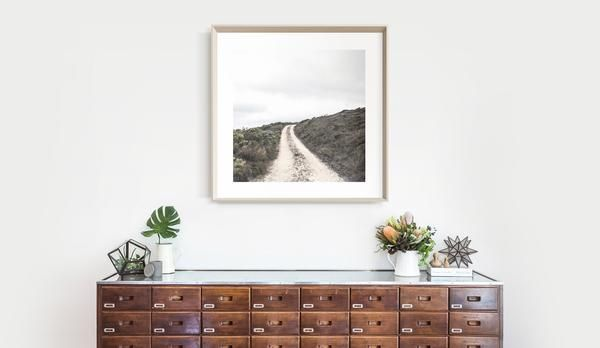 Paths IV. Photography by Debra McFadzean. Well-worn tracks to secret spots. A signed and dated, open edition, original photographic artwork. Made in Australia. Giclée printed on 310gm Hahnemühle FineArt Photo Rag®, 100% cotton, archival quality art paper. Available in three sizes, either unframed or framed in natural wood, white or black. Free delivery for unframed prints. Framed prints may be picked up free of charge from our studio at 778 Nicholson Street, Fitzroy North, or delivery is…