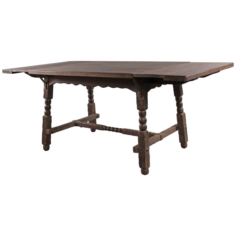 All Original Dark Monterey Dining Room Table