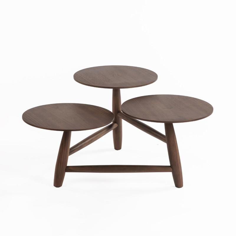 The Francine Coffee Table in Solid Walnut design by BD MOD