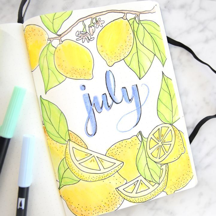 miss louie bullet journal july plan with me bujo flip through bullet journal monthly spread ideas