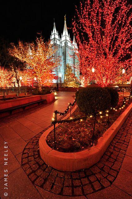 Unled Utah Templos Mormones Sud Paisajes