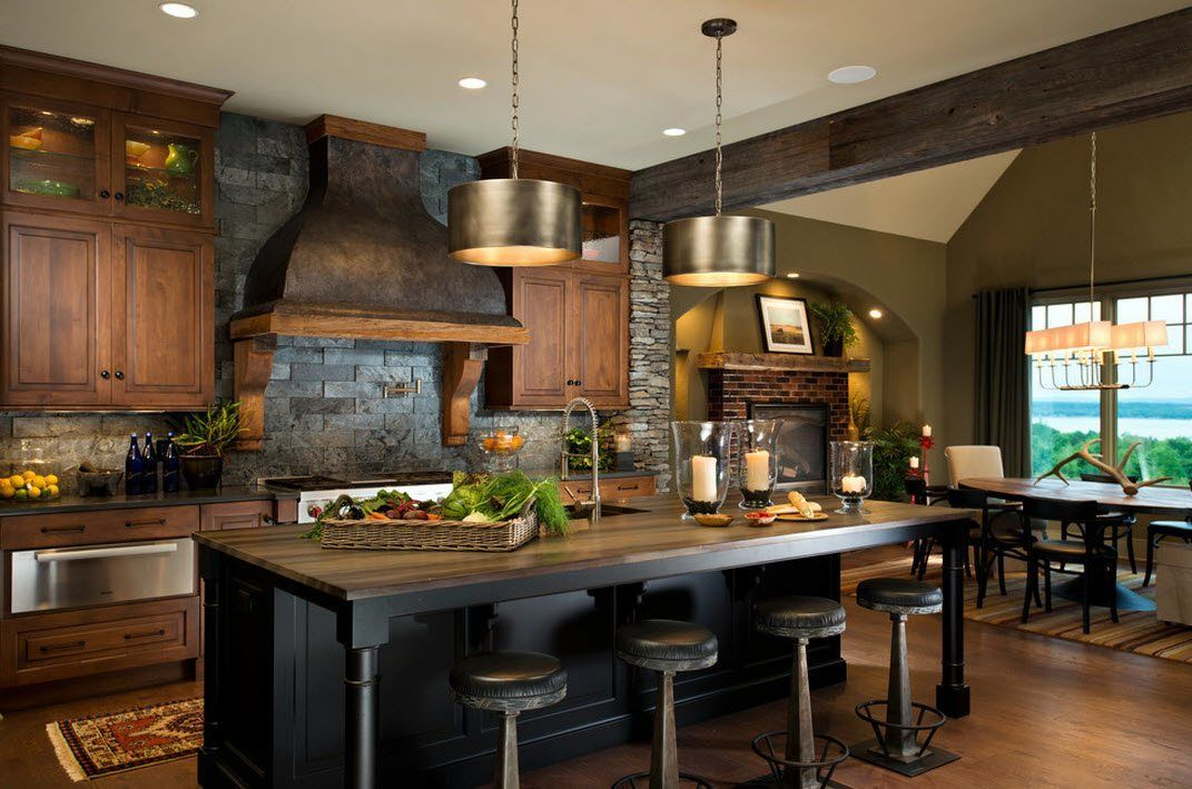 kitchen design stone - Yahoo Image Search Results | New house ...