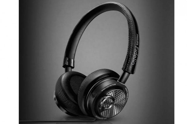 """Philips Fidelio M2L headphones are the first to forego the old 1/8"""" audio jack in favourite of the Lightning port on new Apple devices. #tech #gadgets #accessories"""