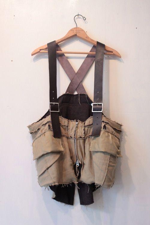 circus - s.0194 cocktail bag vest. color khaki size XS ...