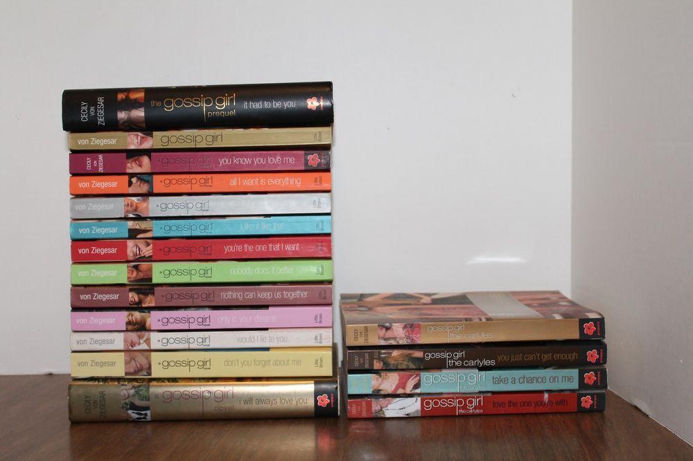 What that Gossip girl book series help