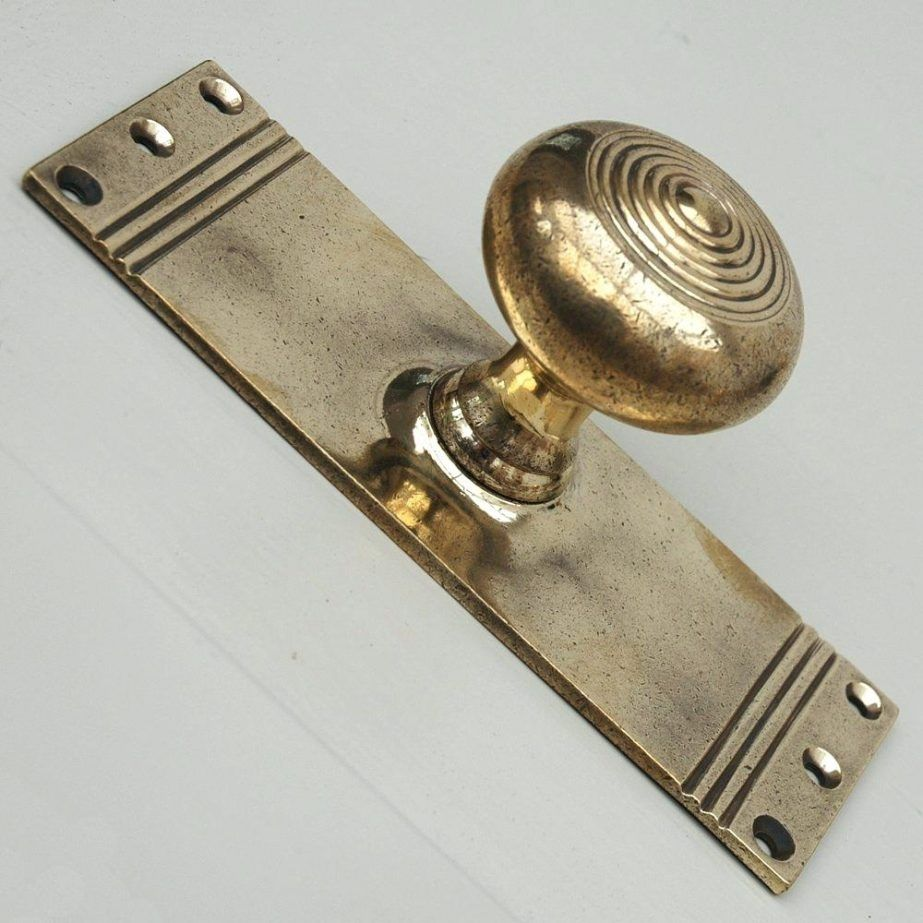 Solid Brass Exterior Door Hardware