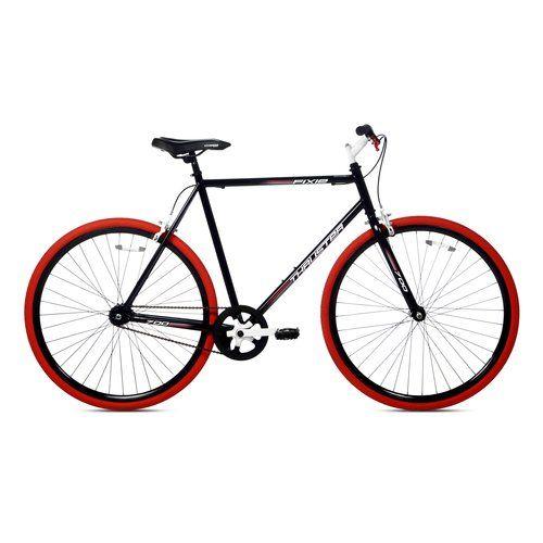 Thruster 700c Men S Fixie Bike Black Red
