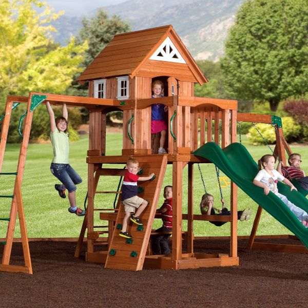 Beautiful Gym Swing Sets