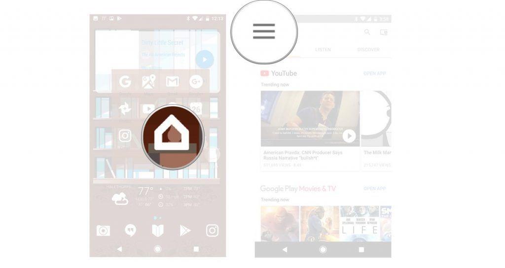 شرح طريقة تغيير التطبيقات الافتراضية في جهاز Google Home نيوتك New Tech Google Play Phone Play