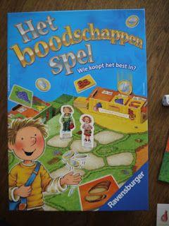 Het boodschappenspel, beschreven op de blog van Villa speelmama