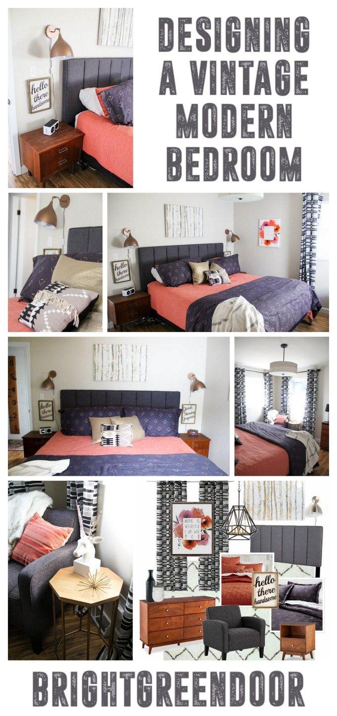 vintage modern master bedroom vintage inspired bedroom mid