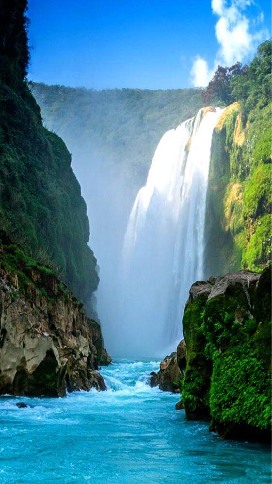 Cascada De Huasteca Potosina Tamur Colorado Bend State Park Places To Travel Waterfall