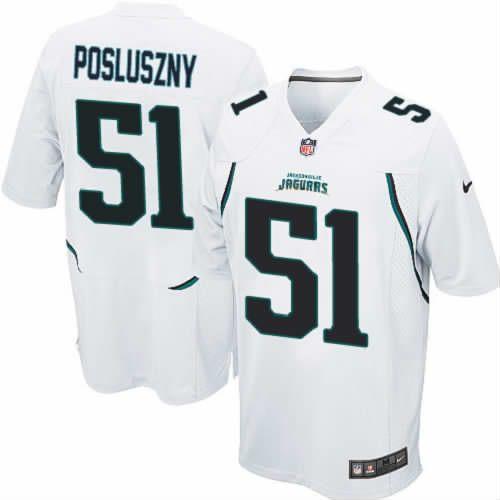 Paul Posluszny Jersey Jacksonville Jaguars  51 Youth White Limited Jersey  Nike NFL Jersey Sale 5b0439e9b