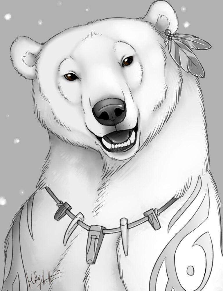 этаж белый медведь арты мило смотрятся рисунки