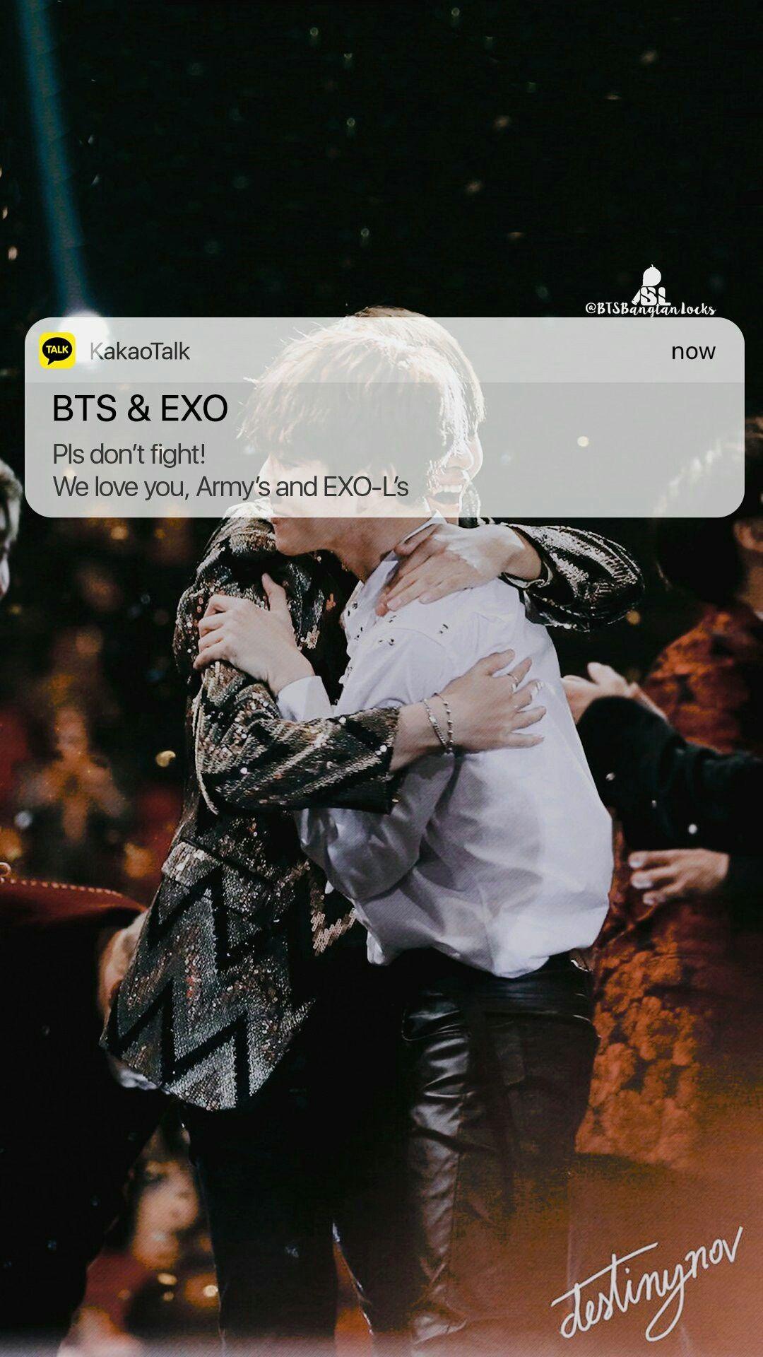 Bts & Exo Wallpaper ♡ wallpapers bts Pinterest