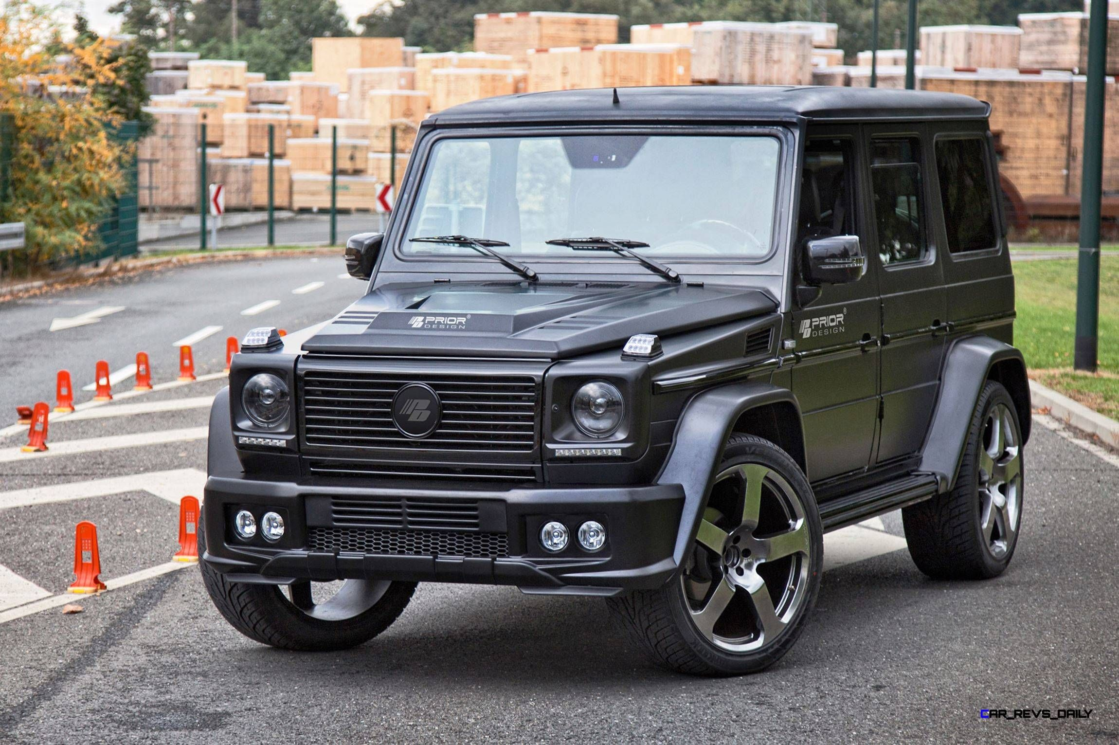 Prior Design G Class Aero Kit Now fered as a Widebody
