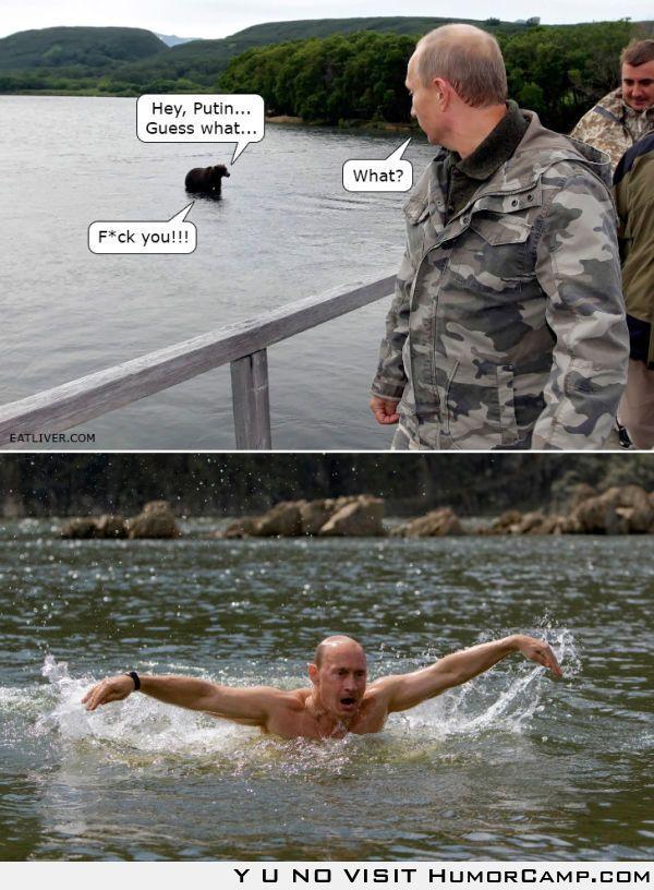 Hey, Putin...