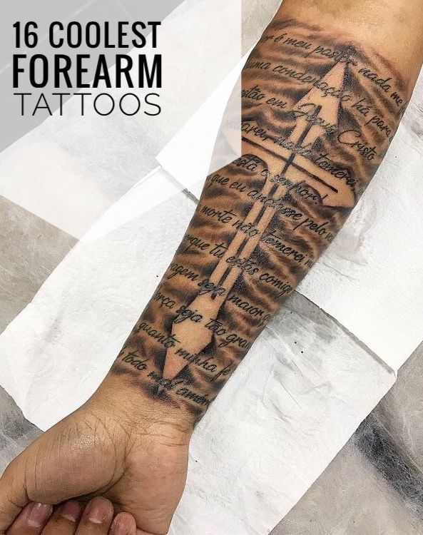 16 Coolest Forearm Tattoos For Men Forearm Tattoo Men Cool Forearm Tattoos Half Sleeve Tattoos For Guys