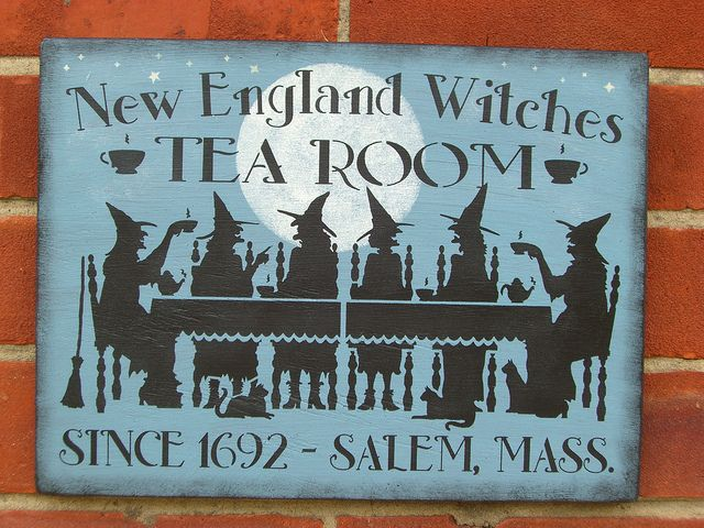 Tea:  New England Witches #Tea Room, by Faerie Nuff, via Flickr.