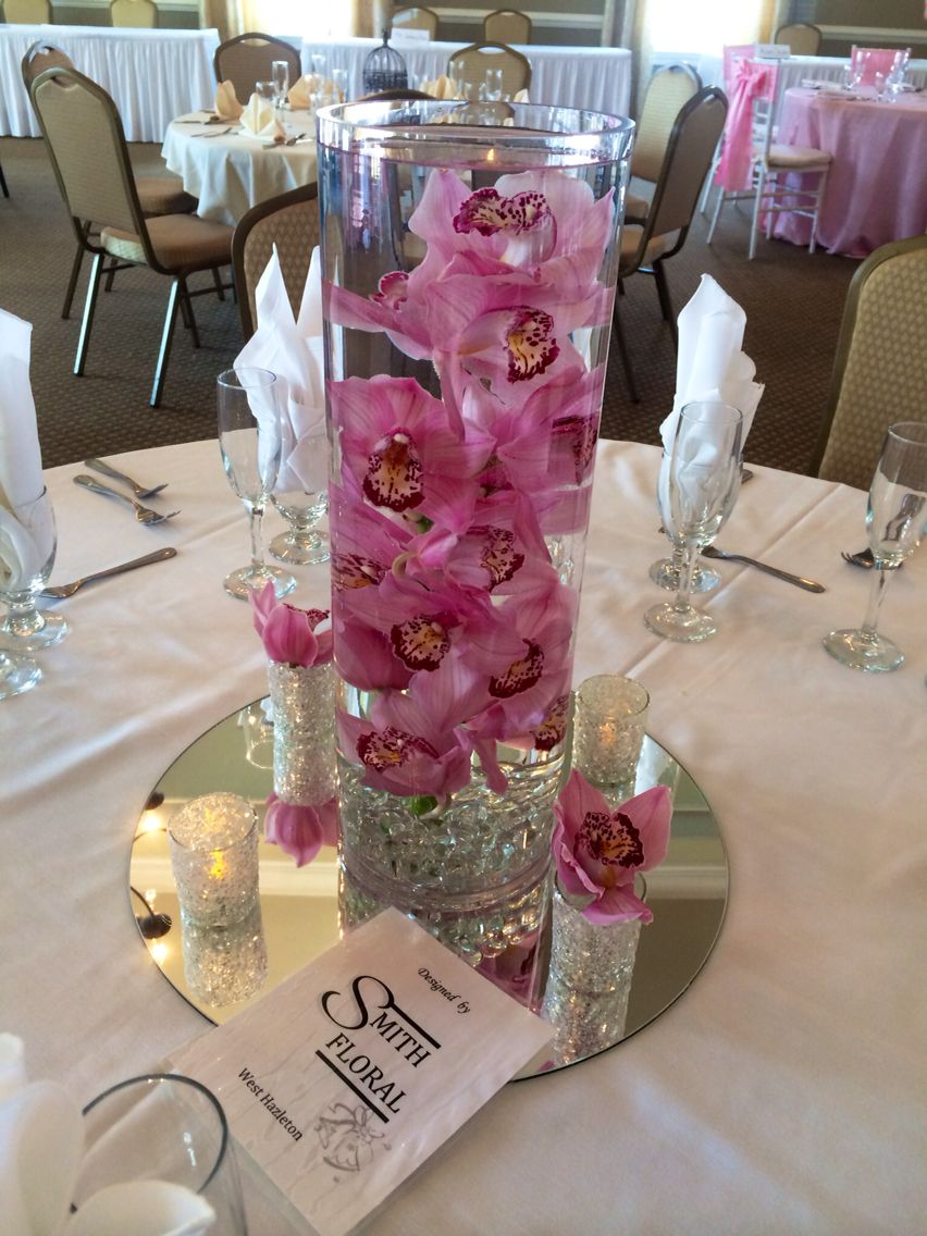 Elegant Centerpiece By Smith Floral Shown At The Sand Springs Open