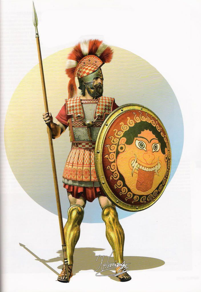 hoplite | Hoplites, Hellenistic and Successor armies ...